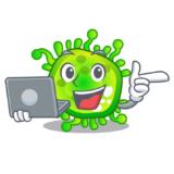 Корпоратив онлайн на удаленке в Новый Год про вирус (адапт. 2022 Год)