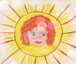 Солнечный лучик для мамы