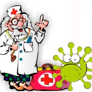 сценарий новогоднего утренника с коронавирусом, Айболитом и бычком