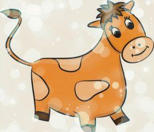 стихотворения про быка детям