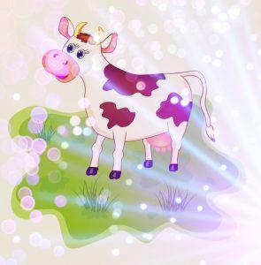 стихи про корову детям