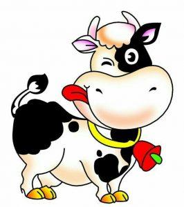 стихи о коровах для детей