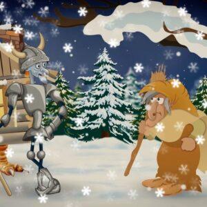 сценарий новогодней сказки взрослым - Русские не сдаются