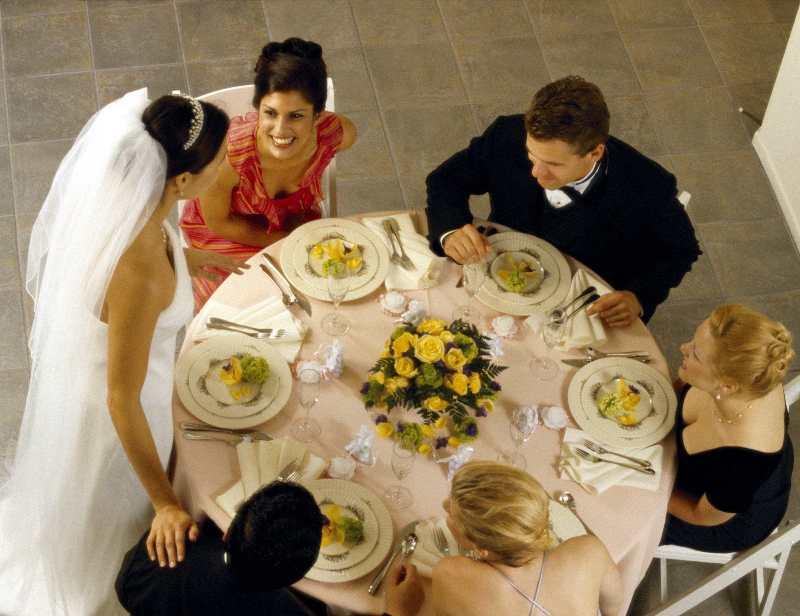 сценарий свадеб за столом в небольшой компании