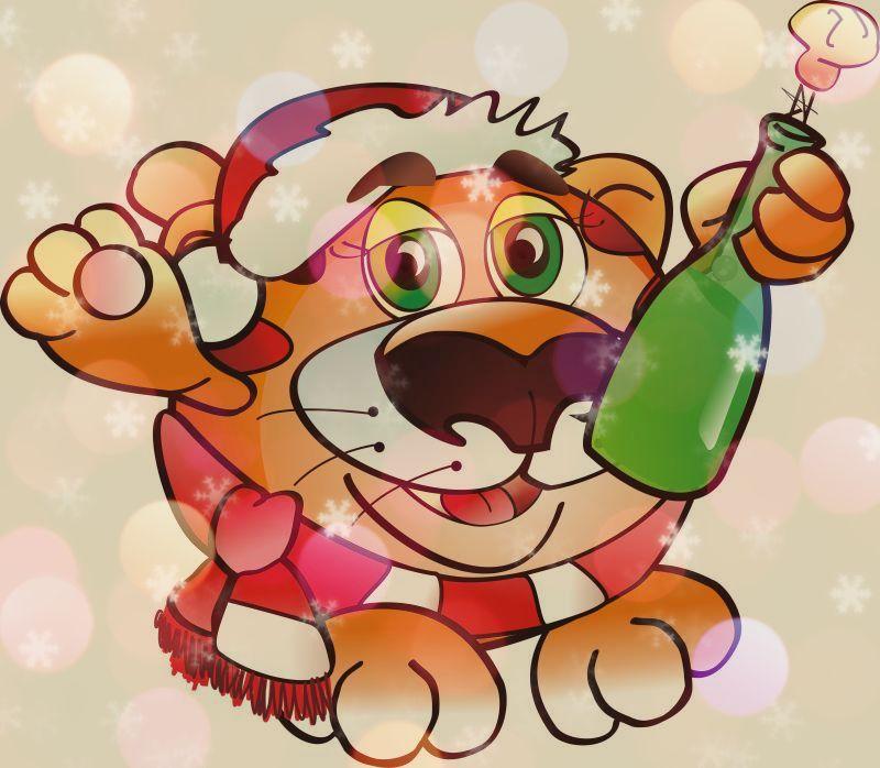 песня-переделка на новый год тигра