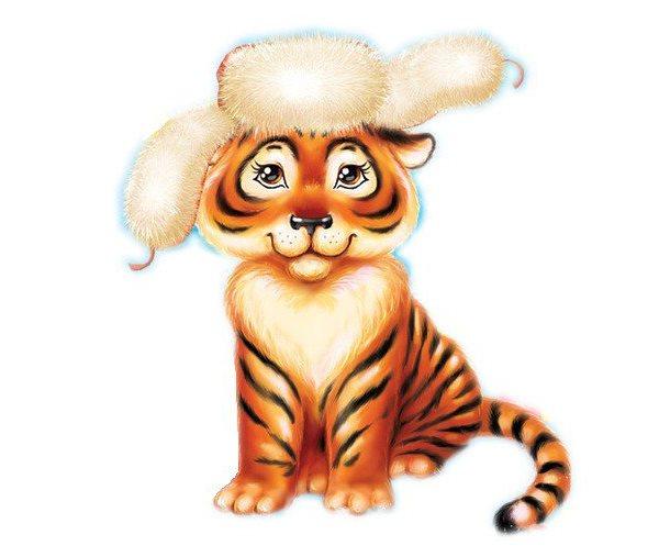 утренник новогодний детям с тигренком