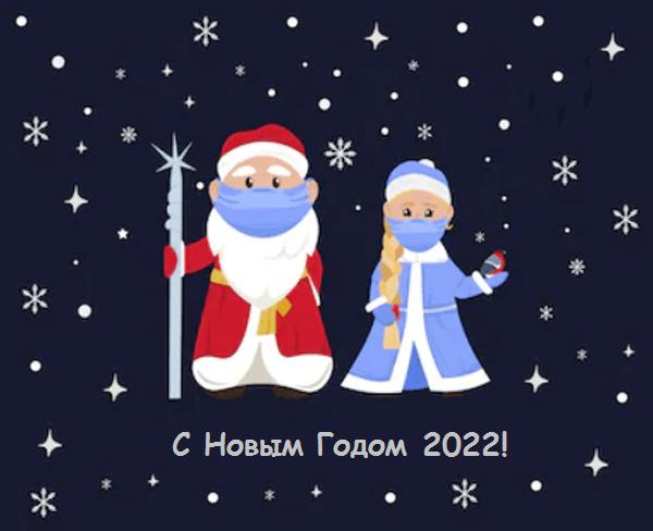 сценка Дед Мороз и Снегурочка для взрослых на карантине