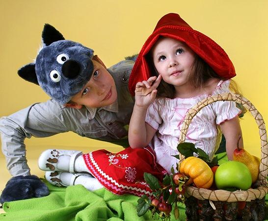 сценарий на день рождения девочке Красная шапочка