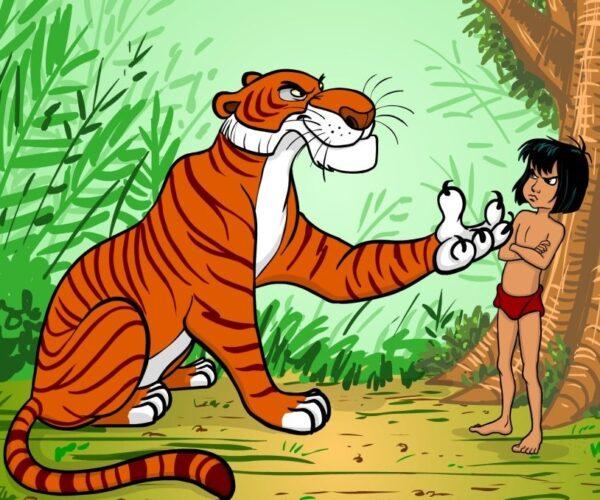 сценка на год тигра: Маугли на новый лад
