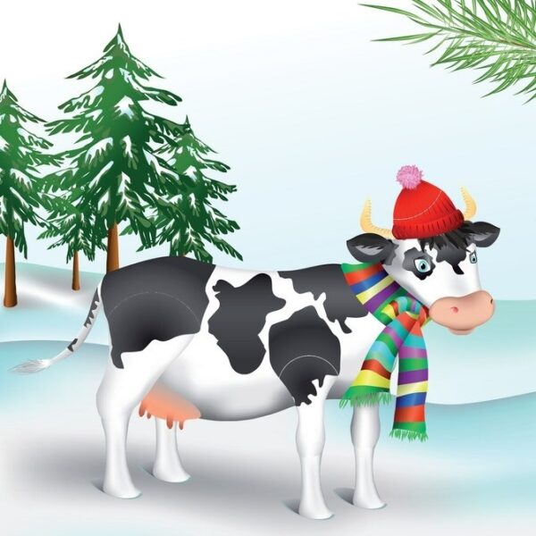 Сценка на год быка взрослым с коровой