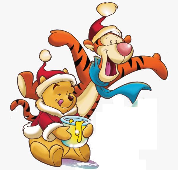 Новогодний сценарий с Тигрой и Винни Пухом для школьников