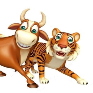сценарий новогодний взрослым с тигром и быком