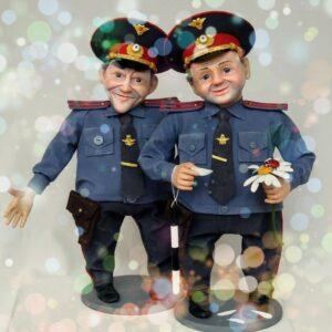 сценки от гаи, полиции в юбилей