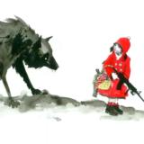 Сказка на новый лад: «Красная Шапочка и Серый Волк» (подходит ко дню медика)